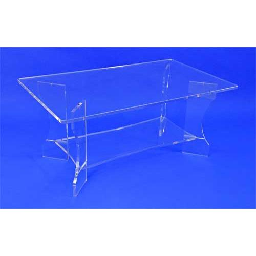 table basse rectangulaire plexi. Black Bedroom Furniture Sets. Home Design Ideas