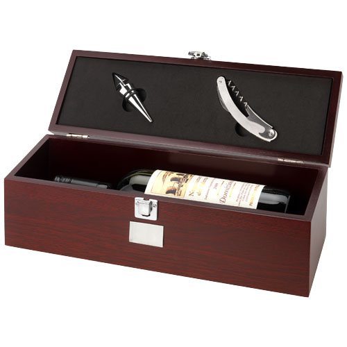 coffret pour bouteille de vin. Black Bedroom Furniture Sets. Home Design Ideas